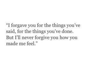forgive, forget, and quote image