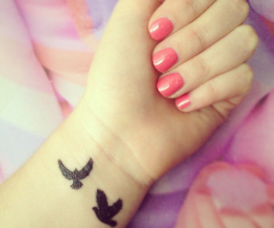 birds, nails, and small image