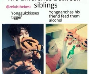 funny, b.a.p, and kpop image