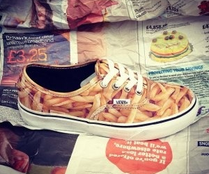 vans, food, and shoes image