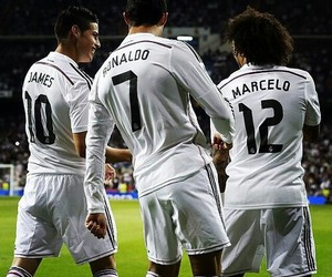 real madrid, marcelo, and james rodriguez image