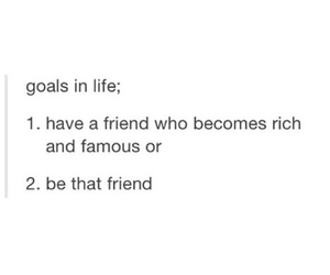 friend and goals image