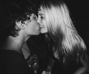 couple, kiss, and lovely image