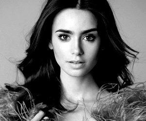 lily collins, actress, and model image