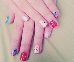 beauty, christmas, and christmas nails image