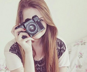 beautiful, camera, and floral image