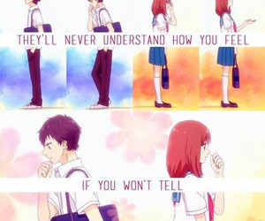 anime, manga, and ao haru ride image
