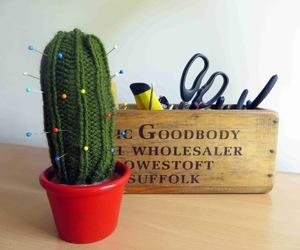 cactus, diy, and handmade image