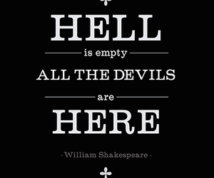 hell, devils, and quotes image