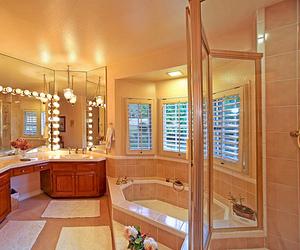 bathroom, jacuzzi, and luxury image