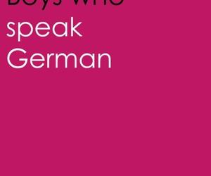 boys, german, and boys who image