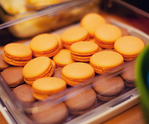 delicious, macaron, and yummy image