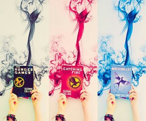 art, books, and hunger games image