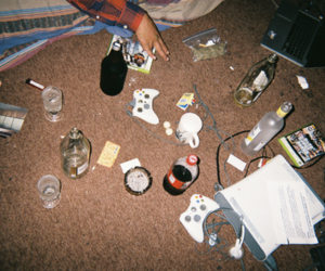 indie, alcohol, and hipster image