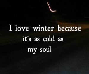 soul, winter, and cold image