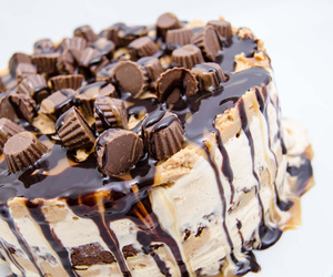 cake, delicious, and caramel image