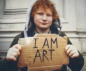 ed sheeran, art, and ed image