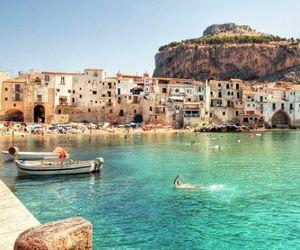 beach, holidays, and sunshine image