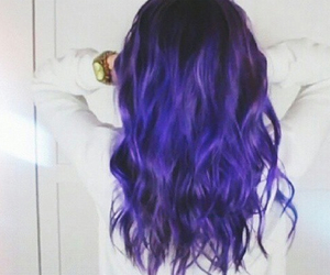 blue hair, grunge, and hipster image