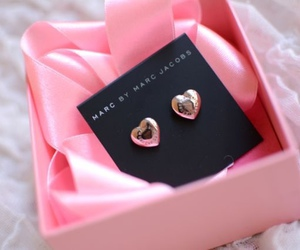 marc jacobs, pink, and earrings image