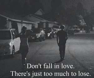 girl, lose, and love image