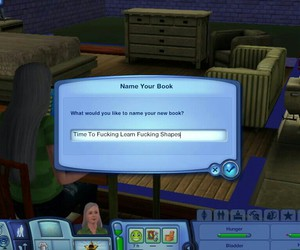silly, sims, and wtf image