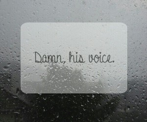him, his voice, and quotes image