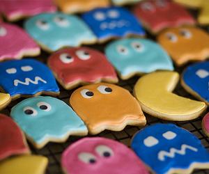 pacman, Cookies, and food image