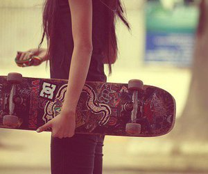 girl, skate, and sk8 girl image