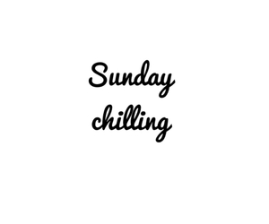 Sunday, weekend, and chilling image