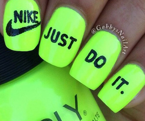 nails and nike image