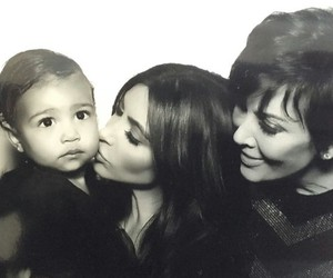 north west, mother's, and kris jenner image