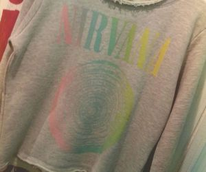 clothes, colors, and nirvana image