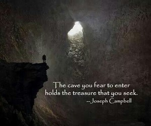 courage, quote, and treasure image