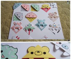 bookmark and kawaii image