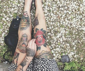 grunge, legs, and pale image