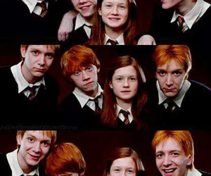 harry potter, weasley, and ron image