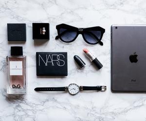 makeup, apple, and nars image