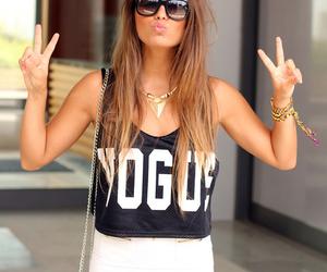 fashion, girl, and vogue image