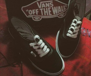 vans, offthewall, and adiction image