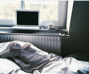 bed, insta, and computer image