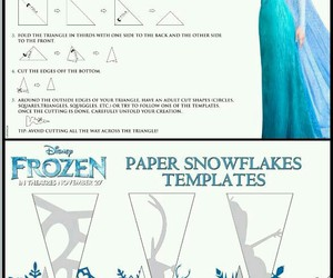 diy, frozen, and Paper image