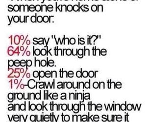 door, funny, and lol image