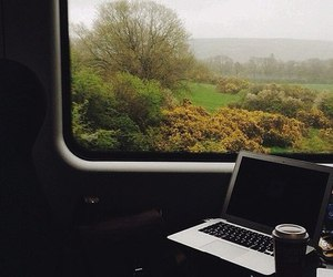 hipster, macbook, and apple image