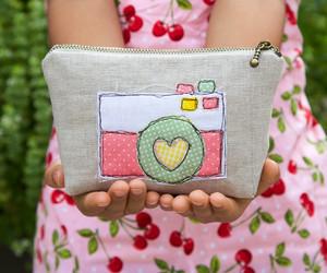 bag, camera, and colorful image
