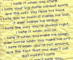 hate, movie, and poem image