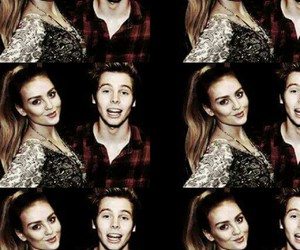 luke hemmings, 5 seconds of summer, and perrie edwards image