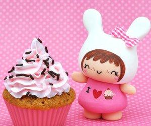 cupcakes, pastel, and vintage image