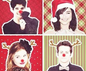 teen wolf, christmas, and scott mccall image