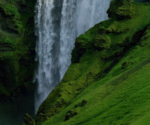 green, iceland, and nature image